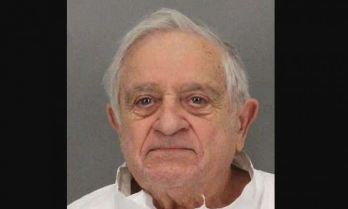 Tony Aiello, 90, was arrested on Sept. 26, 2018, and charged with murder in part because of evidence gleaned from the victim's Fitbit. (San Jose Police Department)
