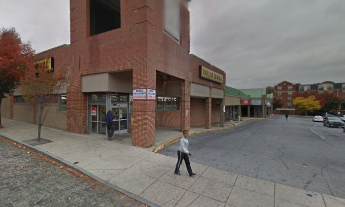 Five people were shot in a drive-by shooting in Philadelphia near a Dollar Store, according to reports on Oct. 3. (Google Street View)