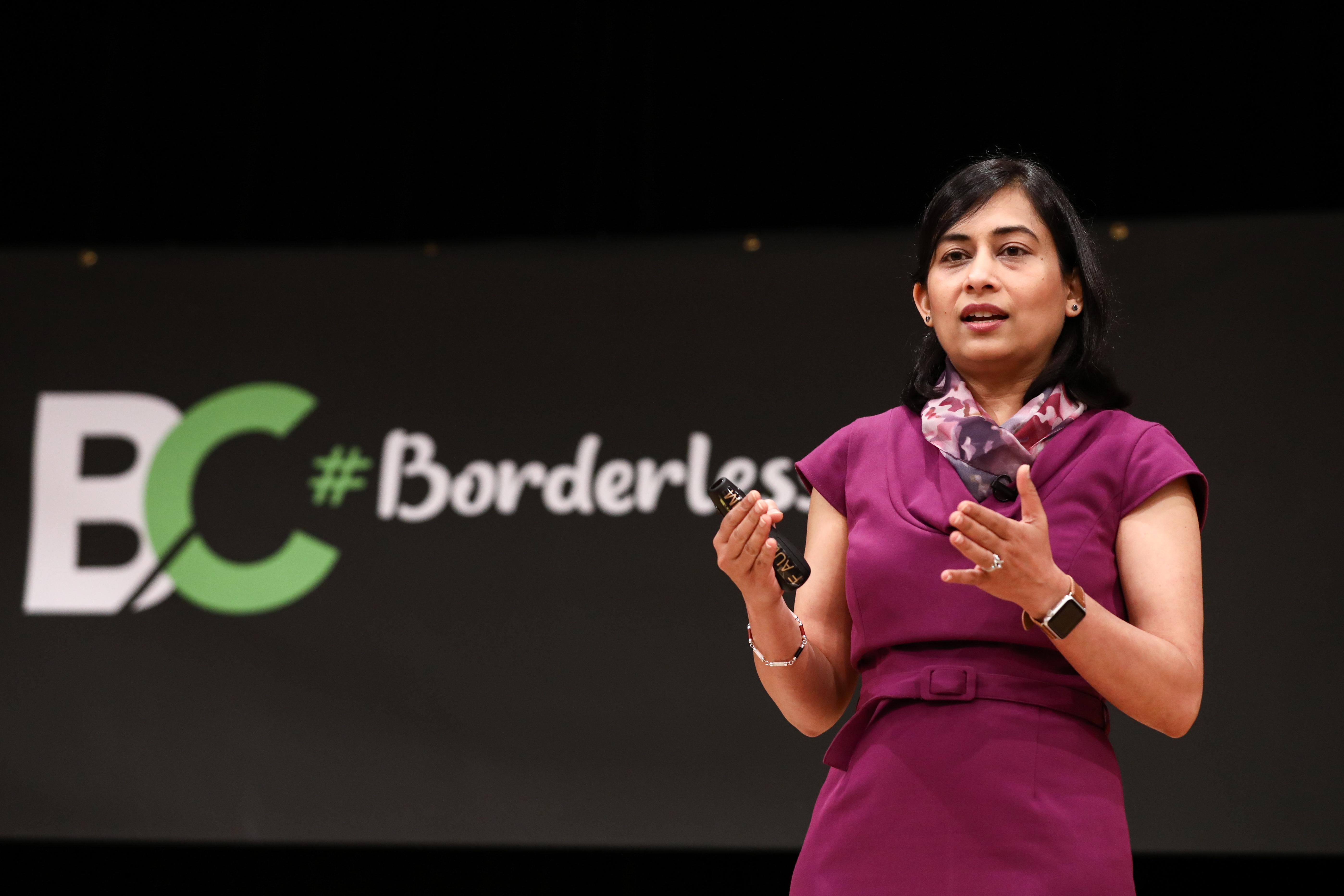 Aanchal Gupta at Borderless Cyber