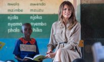 First Lady Visits School in Malawi, Promotes 'Be Best' Campaign