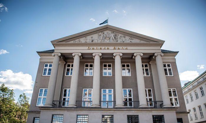 The Danske Bank in Copenhagen, Denmark, on Sept. 25, 2018. MADS CLAUS RASMUSSEN/AFP/Getty Images