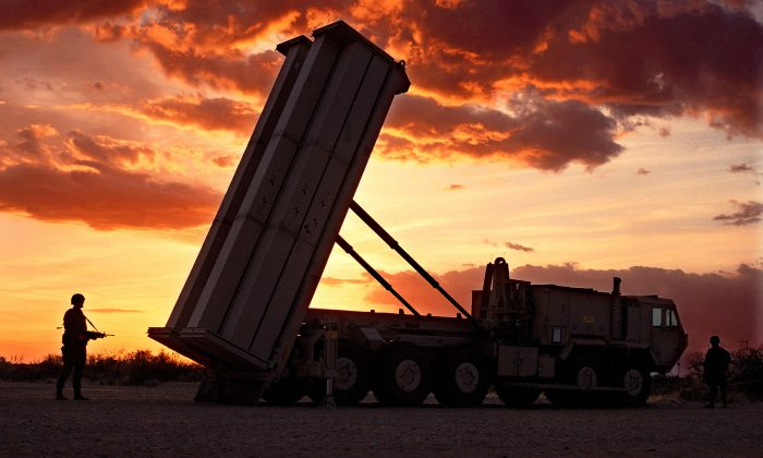 File photo of the THAAD anti-missile defense system. (photo by Lockheed Martin)