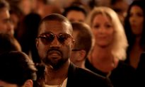Kanye West Donates Money, Shoes to Homeless Man in Chicago