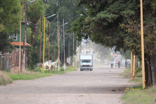 A road in La Saucera, in Tultepec, Mexico, on Oct. 2, 2018.