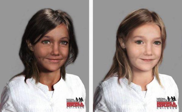 Possible likeness of Madeleine McCann