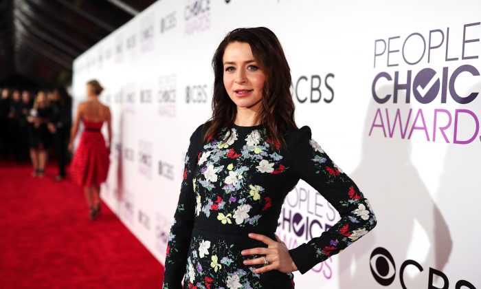 Actress Caterina Scorsone attends the People's Choice Awards 2017 at Microsoft Theater in Los Angeles, Calif. on Jan. 18, 2017. (Christopher Polk/Getty Images for People's Choice Awards)