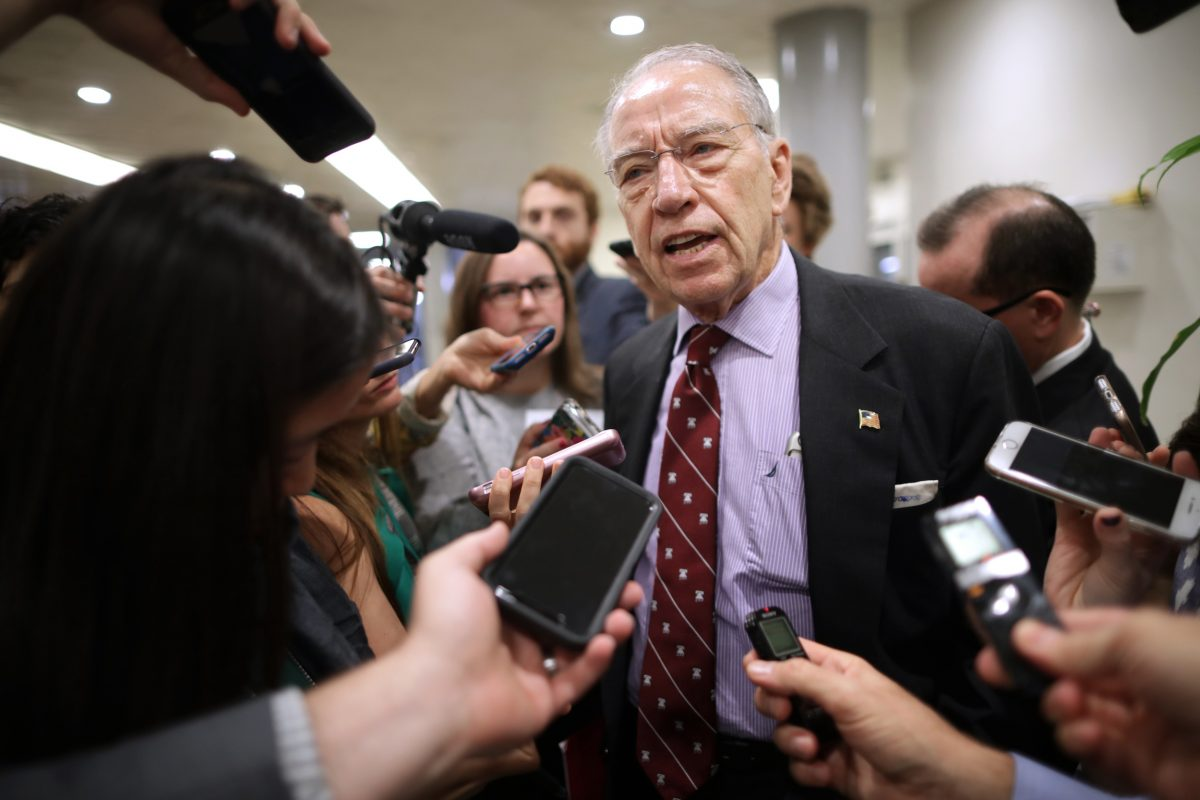 Grassley referred Kavanaugh accuse for criminal probe