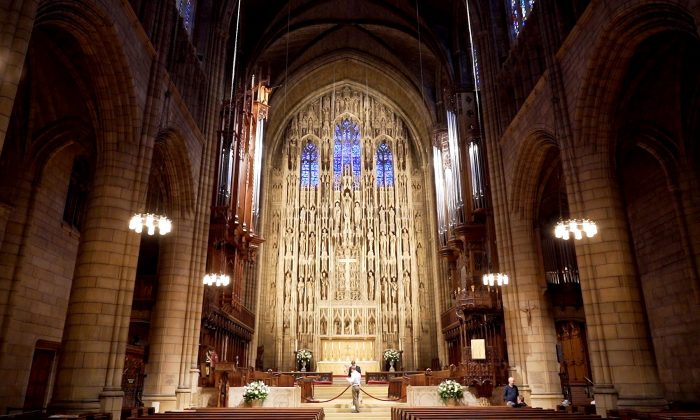 Saint Thomas Church Fifth Avenue on Oct. 4, 2018. (Shenghua Sung)