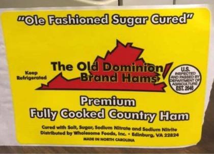 recalled ham