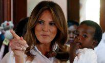 Melania Trump's Plane Makes Emergency Landing; She Eventually Makes It to Event