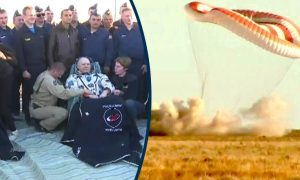 Space Station Crew Returns to Earth, Lands Safely in Kazakhstan