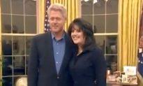 New Video Shows Bill Clinton Meeting Monica Lewinsky in Oval Office in 1997