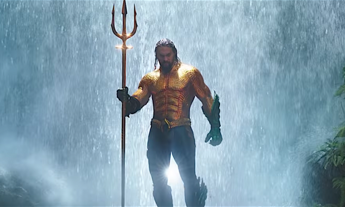 """Aquaman"" hits theaters on Dec. 21, 2018. (Screenshot/Warner Bros.)"
