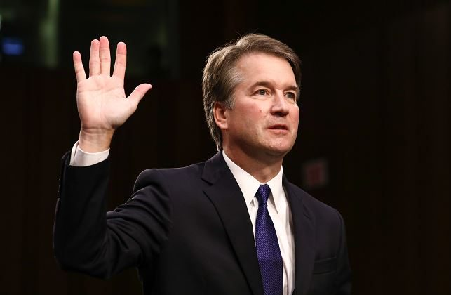 Judge Brett Kavanaugh in a Sept. 4, 2018 file photo. (Samira Bouaou/The Epoch Times)