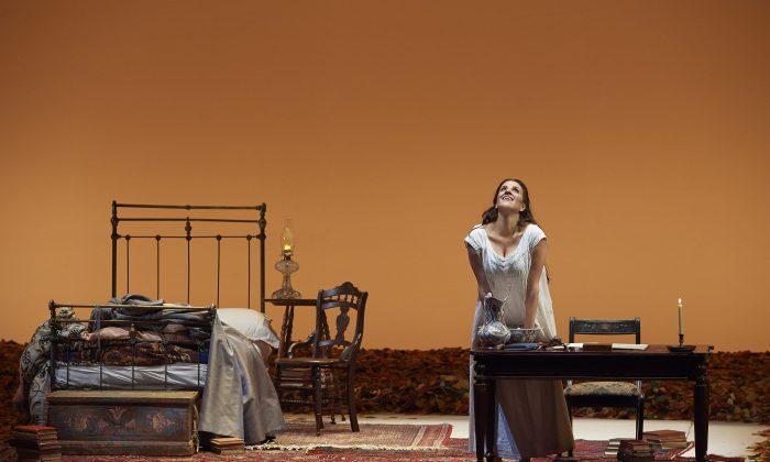 "Canadian soprano Joyce El-Khoury as Tatyana in the Canadian Opera Company's production of ""Eugene Onegin."" (Michael Cooper)"