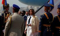 Videos of the Day: Melania Trump Visits the Pyramids as She Wraps up Solo Africa Tour