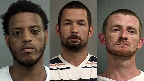 (L-R) Tajuan Burton, Gary Bradford and Justin Rankin