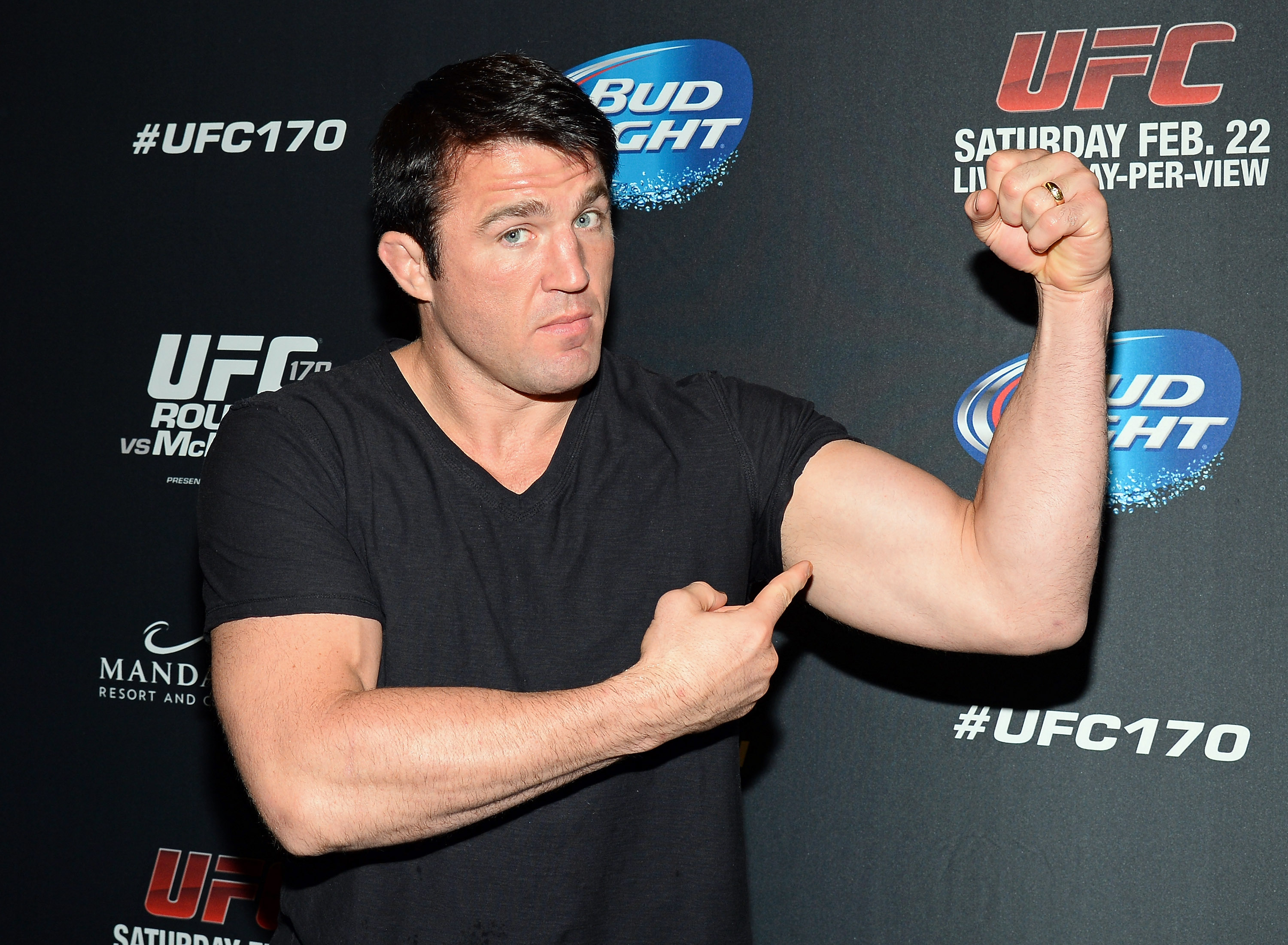 MMA fighter Chael Sonnen