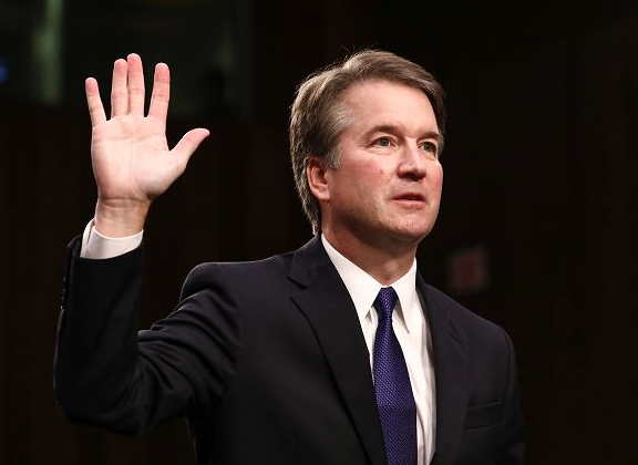Judge Brett Kavanaugh before testifying to the Senate Judiciary Committee during his Supreme Court confirmation hearing on Capitol Hill on Sept. 27, 2018.   (Samira Bouaou/The Epoch Times)