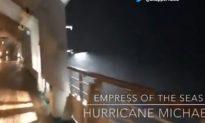 Video: Royal Caribbean Cruise Ship Caught in Hurricane Michael