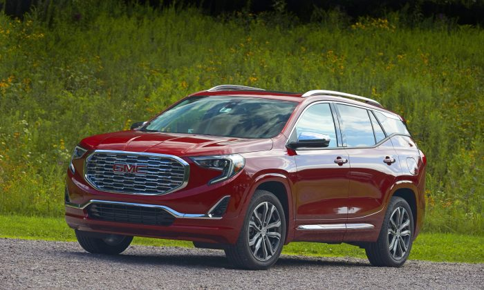 2018 GMC Terrain Denali. (Courtesy of GMC)