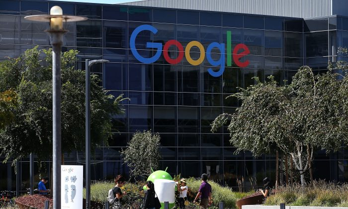 The Google headquarters in Mountain View, Calif., on Sept. 2, 2015. Justin Sullivan/Getty Images