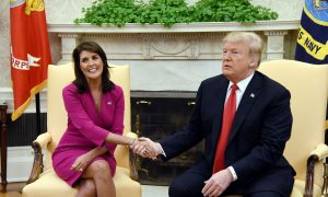 Nikki Haley Says 'Every American Should Be Proud' of Trump's Record on Foreign Policy