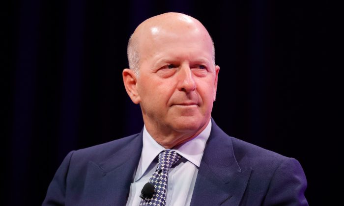 Goldman Sachs CEO David Solomon in Washington, on Oct. 10, 2017. (Paul Morigi/Getty Images for Fortune)