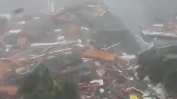 hurricane michael slams mexico beach florida