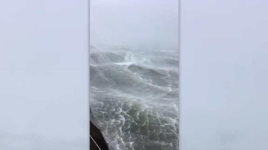 hurricane michael waves