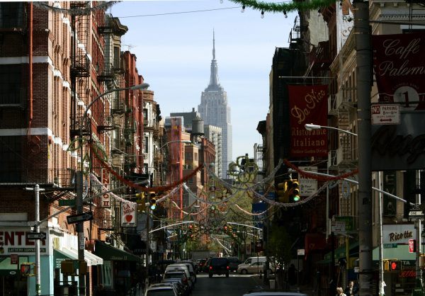 Mulberry Street in Little Italy