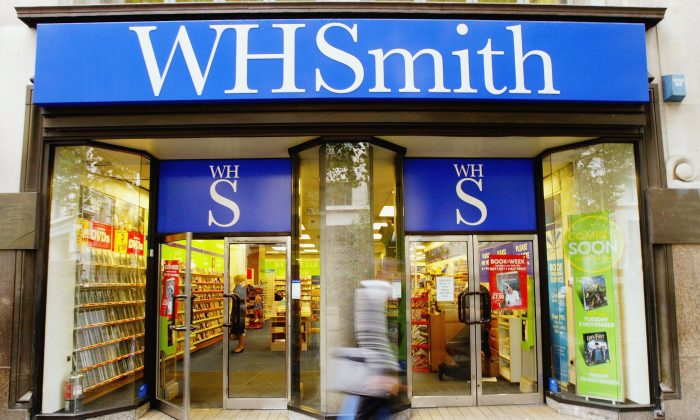 A branch of WH Smith in London in a file photo. (Graeme Robertson/Getty Images)