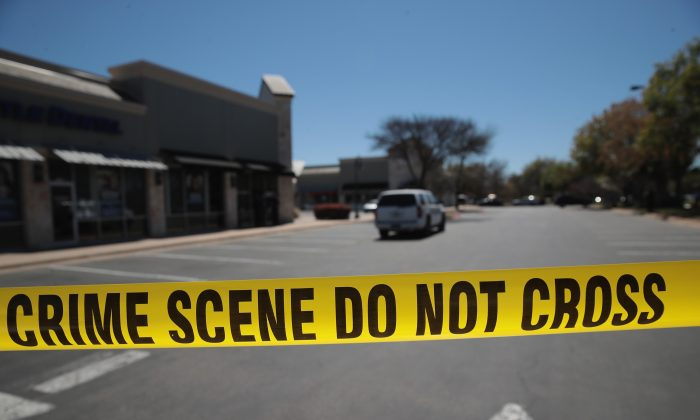 Police tape in a file photo. (Scott Olson/Getty Images)
