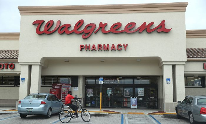 A Walgreens store in Riviera Beach, Fla., on Oct. 25, 2017. (Joe Raedle/Getty Images)