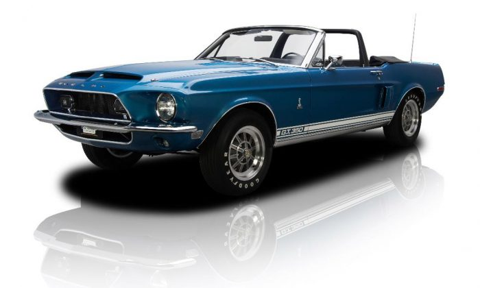 1968 Ford Mustang Shelby GT350. (Courtesy of Miami International Auto Show)