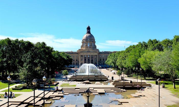 The Alberta Legislature Building. (Zak Tang)