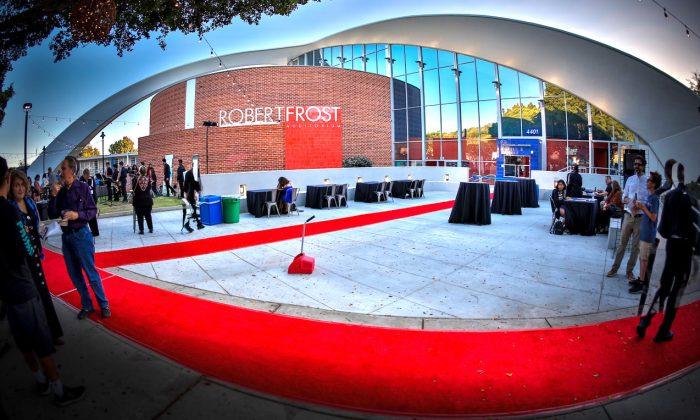 The Robert Frost Memorial Auditorium in Culver City, California. (Todd Johnson)