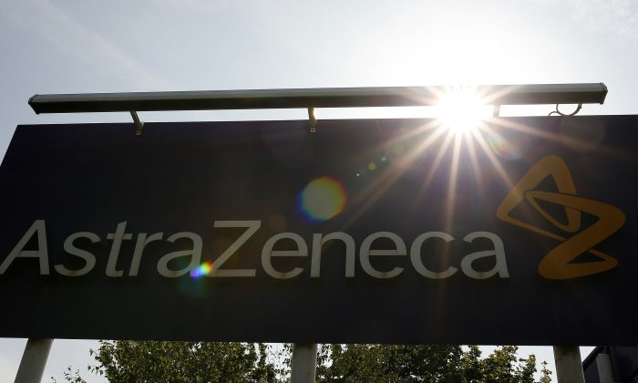AstraZeneca site in Macclesfield, England, on May 19, 2014. (Reuters/Phil Noble)