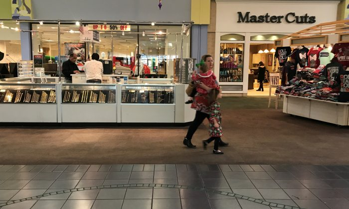 The Gadsden Mall in Gadsden, Ala., on Dec. 10, 2017. REUTERS/Carlo Allegri