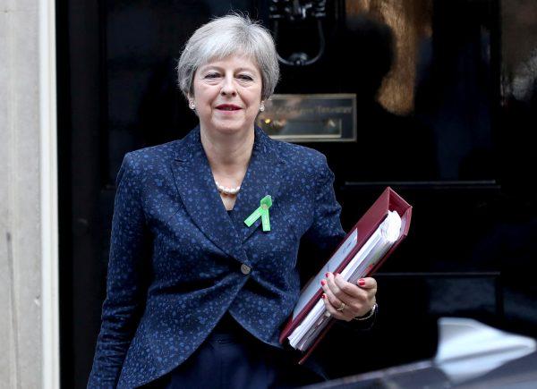 Britains Theresa Downing London