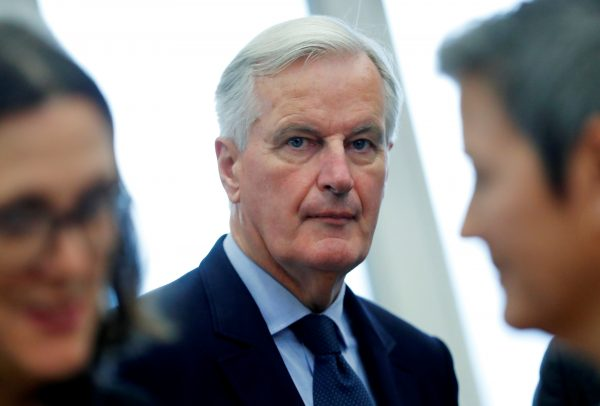 Brexit negotiator Barnier Comissions meeting