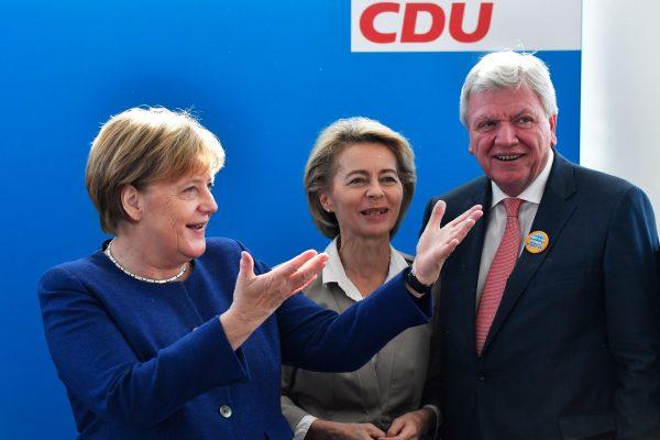 CDU leader Defense Minister Union