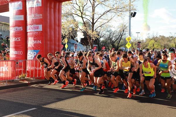 The marathon begins