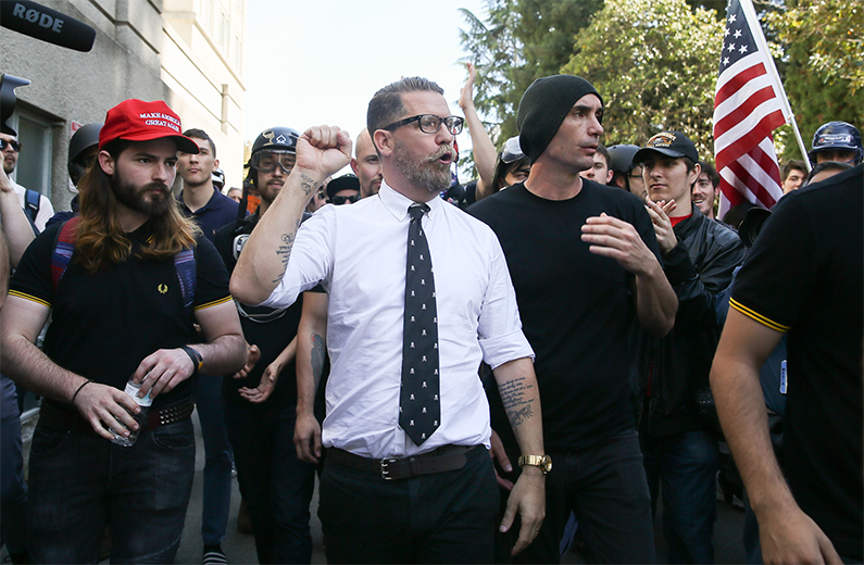 Right wing provocateur Gavin McInnes