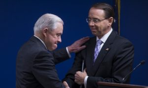 Sessions Appoints Rosenstein to Lead Task Force Against MS-13, Hezbollah