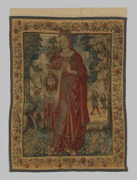 Saint Veronica tapestry