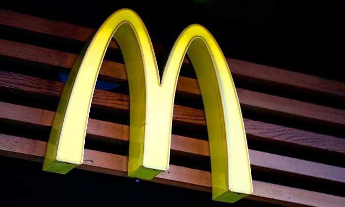 A McDonalds logo. (Tolga Akmen/AFP/Getty Images)