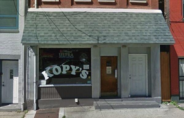 Kopy's bar in pittsburgh