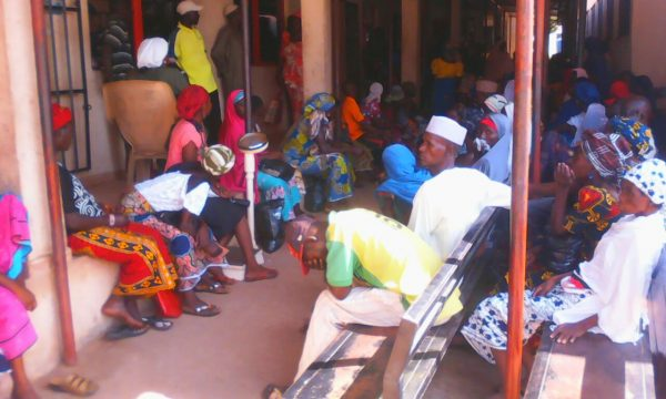 Patients await treatment at the Dalhatu Araf Specialist Hospital in Lafia.
