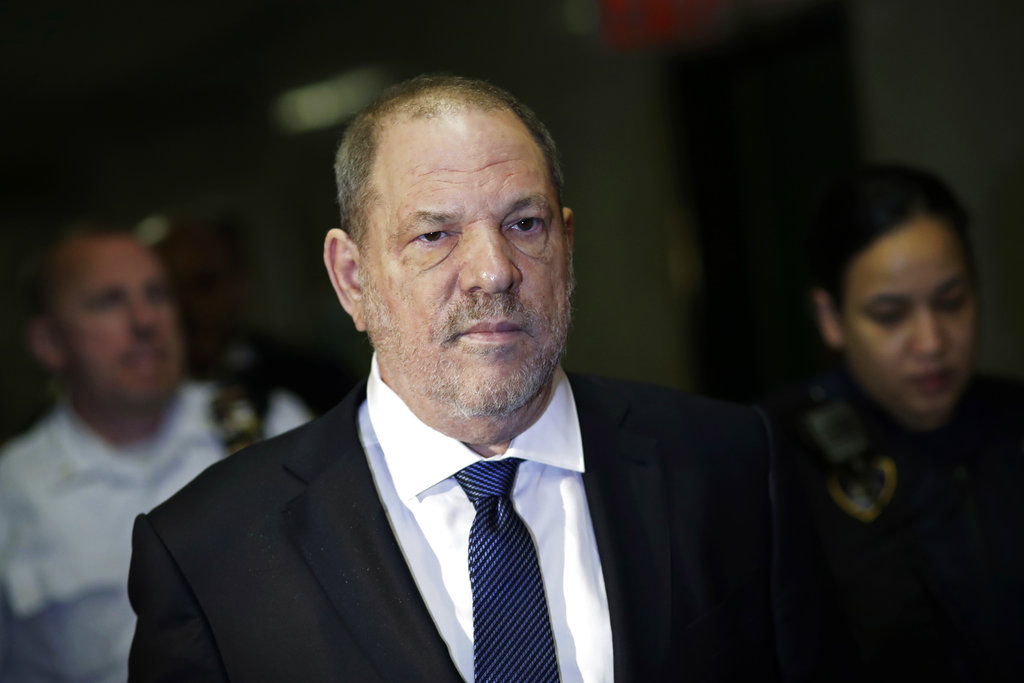 Harvey Weinstein enters Supreme Court